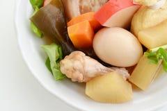 Heerlijke Japanse braadpan stock foto's
