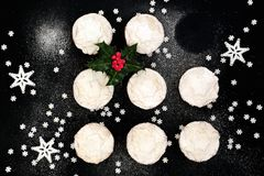 Heerlijke Kerstmis hakt pastei fijn stock afbeeldingen