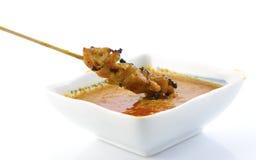 Heerlijke kip Satay royalty-vrije stock afbeelding
