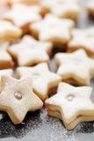 Heerlijke koekjescake Stock Foto's