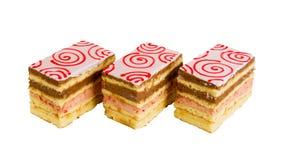 Heerlijke koekjescake Royalty-vrije Stock Foto