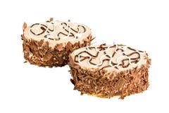 Heerlijke koekjescake Stock Fotografie