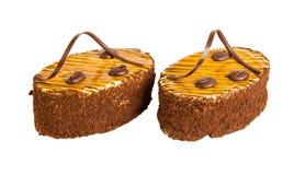 Heerlijke koekjescake Stock Foto