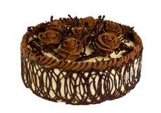 Heerlijke koekjescake met chocolade Royalty-vrije Stock Foto