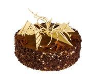 Heerlijke koekjescake met chocolade Stock Afbeelding