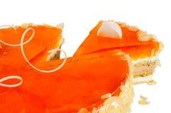 Heerlijke koekjescake met mango Royalty-vrije Stock Foto