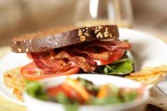 Heerlijke lunch Royalty-vrije Stock Afbeeldingen