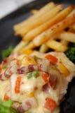 Heerlijke maaltijd Stock Foto