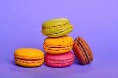 Heerlijke macarons Royalty-vrije Stock Foto's