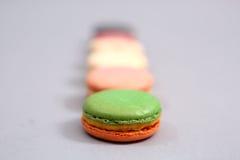 Heerlijke macarons Stock Foto's