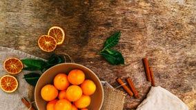 Heerlijke mandarin Royalty-vrije Stock Afbeelding