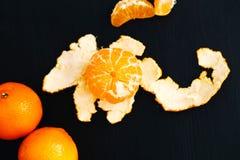 Heerlijke mandarin Royalty-vrije Stock Afbeeldingen