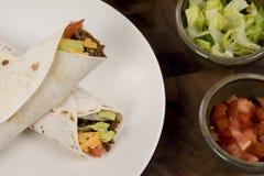 Heerlijke Mexicaanse Taco's Royalty-vrije Stock Foto's