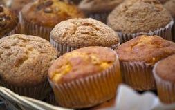 Heerlijke muffincakes Royalty-vrije Stock Fotografie