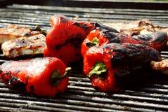 Heerlijke peper stock foto