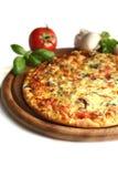 Heerlijke pizza Stock Foto
