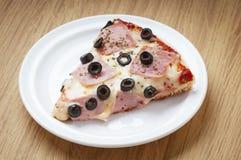 heerlijke pizzabesnoeiing Stock Fotografie