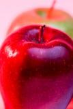 Heerlijke Rode Apple en Oma Smith Apple Royalty-vrije Stock Afbeeldingen