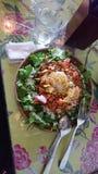 Heerlijke salade stock foto's