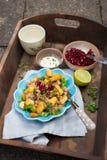 Heerlijke salade Royalty-vrije Stock Afbeeldingen