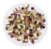 Heerlijke salade Stock Foto