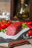 Heerlijke salami Royalty-vrije Stock Foto