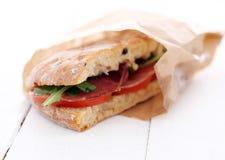 Heerlijke sandwich Stock Afbeelding