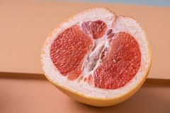 Heerlijke sappige grapefruit Stock Fotografie