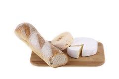 Heerlijke selectie van kaas Stock Afbeelding