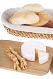 Heerlijke selectie van kaas Stock Foto