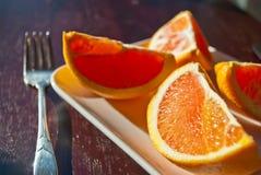 Heerlijke sinaasappel Stock Foto