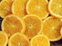 Heerlijke sinaasappel Royalty-vrije Stock Foto's
