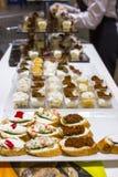 Heerlijke snacks Royalty-vrije Stock Foto