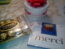 Heerlijke snoepjes, suikergoed, lollys, zoet-materiaal Stock Foto's