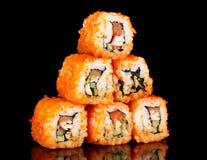 Heerlijke sushi royalty-vrije stock foto's