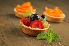 Heerlijke taartjes Royalty-vrije Stock Foto's