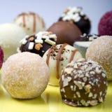 Heerlijke truffels. Groot! Royalty-vrije Stock Foto