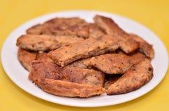 Heerlijke veggie vleesschotel Stock Fotografie