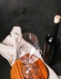Heerlijke wijn Stock Fotografie