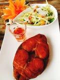 Heerlijke yummy samui van voedselvissen Royalty-vrije Stock Foto's