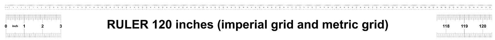 Heerser 120 duim keizer Metrische heerser 160 duim Nauwkeurig metend hulpmiddel Kaliberbepalingsnet stock illustratie