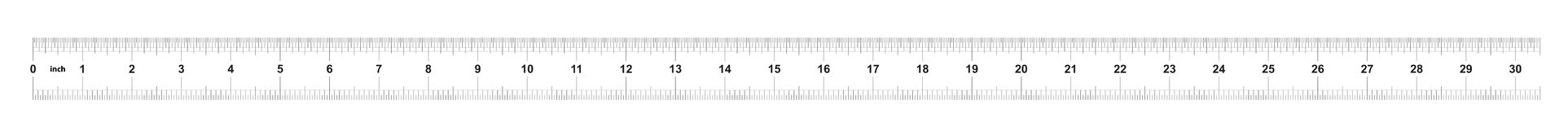 Heerser 30 duim keizer Metrische heerser 160 duim Nauwkeurig metend hulpmiddel Kaliberbepalingsnet royalty-vrije illustratie