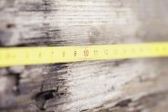 Heersers grunge houten oppervlakte nadruk op aantal 10 Royalty-vrije Stock Foto's