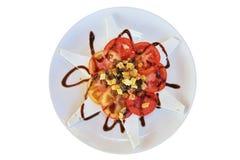Сheese salad Stock Image