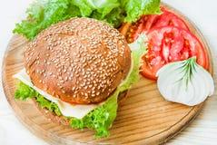 Сheeseburger Stock Photography