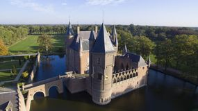 The Heeswijk Castle royalty free stock photos