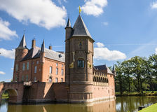 Heeswijk castle on the water. In Nederland Royalty Free Stock Photos