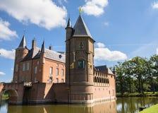 Heeswijk kasztel na wodzie zdjęcia royalty free