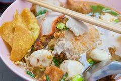 Heet en Kruidig Tom Yum Noodle Stock Fotografie