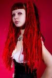 Heet gotisch meisje Royalty-vrije Stock Fotografie